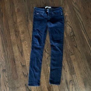 Like new Hollister Women's Super Skinny Jeans 0R